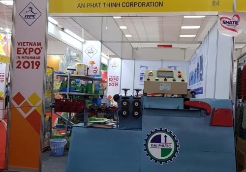 Đại Phước tham dự hội nghị triển lãm tại Myanmar