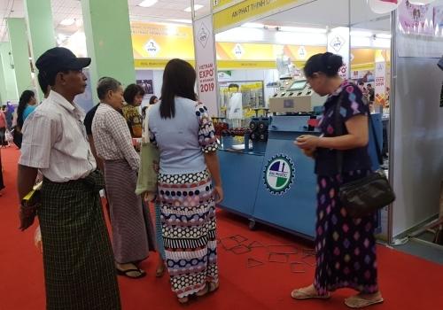 Hoạt động hội chợ  Việt Nam Expo 2019 in Myanmar