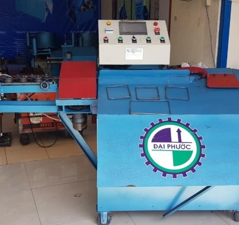 Máy bẻ đai sắt tích hợp tự động